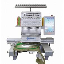 VELLES VE 21C-TS2 Промышленная одноголовочная 15ти игольная  вышивальная машина